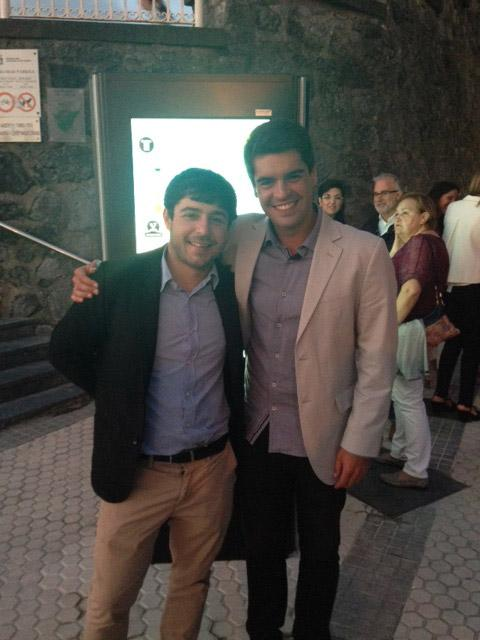 Iñaki and Mario, entrepreneurs and founders of LURGEN have made possible the lighting of the pedestrian tunnel of Miramar, in San Sebastian, Spain