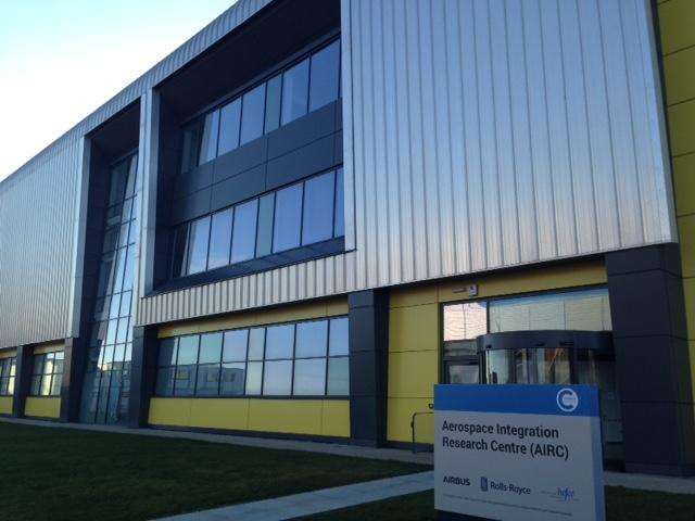 A visit to the Aerospace Integration research Centre in Cranfield, England