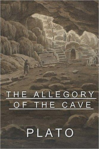 The allegory of the cave or Plato´s cave
